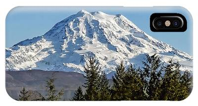 Mount Rainier Phone Cases