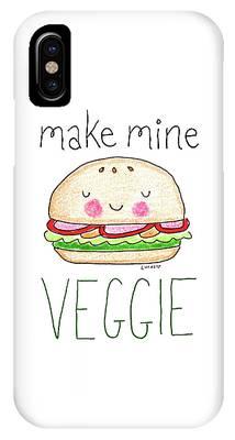 Vegetarian Phone Cases