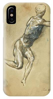 Male Nude Phone Cases