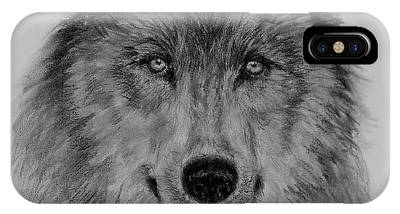 Mama Wolf IPhone Case