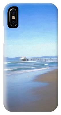 Manhattan Pier Art IPhone Case