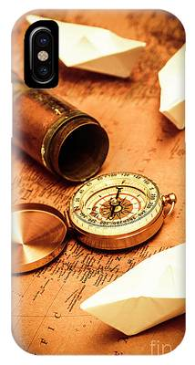 IPhone Case featuring the photograph Maps And Bearings by Jorgo Photography - Wall Art Gallery
