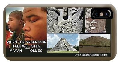 Mayan Olmec IPhone Case