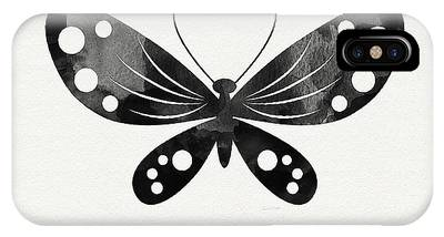 White Butterfly Phone Cases