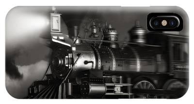 Steam Engine Phone Cases