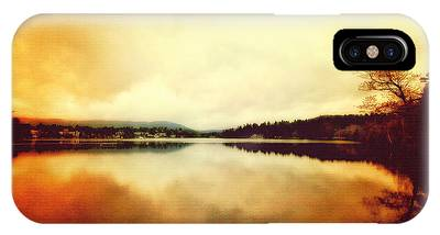 Mirror Lake At Sunset IPhone Case