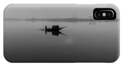 IPhone Case featuring the photograph Misty Morning On The Lower Ganges by Chris Cousins