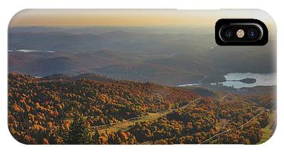 IPhone Case featuring the photograph Mont Tremblant Summit Panorama by Andy Konieczny