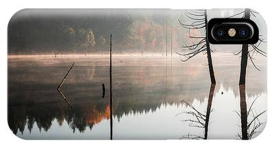 Morning Mist On A Quiet Lake IPhone Case