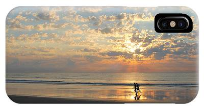 IPhone Case featuring the photograph Morning Run by LeeAnn Kendall