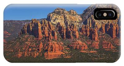 IPhone Case featuring the photograph Munds Mountain Panorama by Andy Konieczny