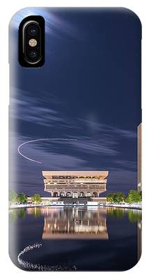 IPhone Case featuring the photograph Museum Flyby by Brad Wenskoski