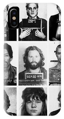 Musical Mug Shots Three Legends Very Large Original Photo 9 IPhone Case