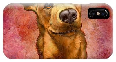 Dog Portrait Phone Cases