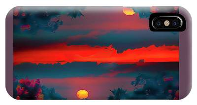 My First Sunset- IPhone Case