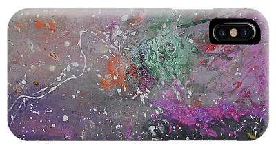 IPhone Case featuring the painting Mystical Dance by Michael Lucarelli