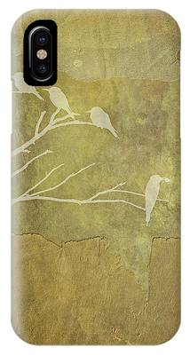 Nature Study In Gold  IPhone Case