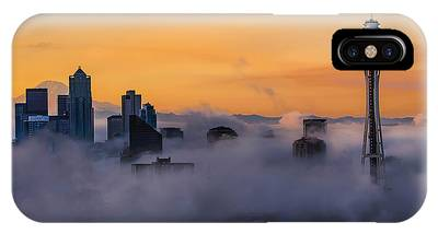 IPhone Case featuring the photograph Needling The Fog by Kevin McClish