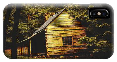 Abandoned Cabins Smoky Mountains Phone Cases