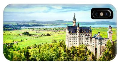 IPhone Case featuring the photograph Neuschwanstein Castle by Kevin McClish