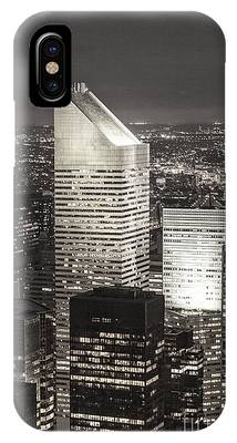 IPhone Case featuring the photograph New York Citigroup Center  by Juergen Held