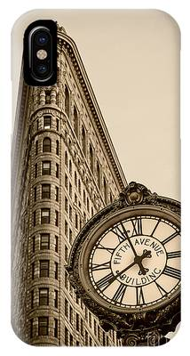 IPhone Case featuring the photograph New York Flatiron by Juergen Held