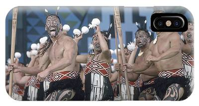 IPhone Case featuring the photograph New Zealand,north Island,  Rotorua Arts Festival,dance And Singi by Juergen Held