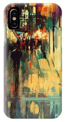 Night Alleyway IPhone Case