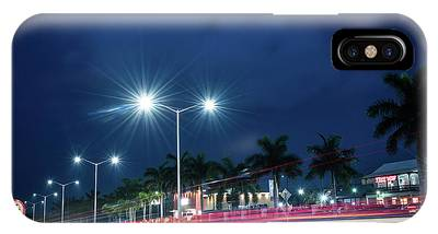 Night Lights In Montego Bay City IPhone Case