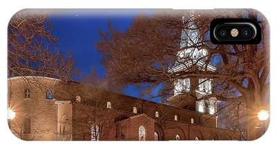 Night Lights St Anne's In The Circle IPhone Case