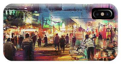 Night Market IPhone Case