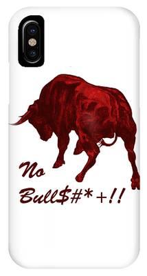 No Bullshit IPhone Case