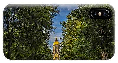 Notre Dame University 2 IPhone Case
