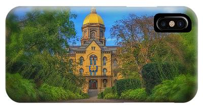 Notre Dame University Q2 IPhone Case