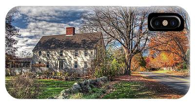 Noyes House In Autumn IPhone Case