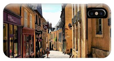 Old Buildings In France IPhone Case