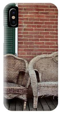 Old West Wicker IPhone Case by Patricia Strand