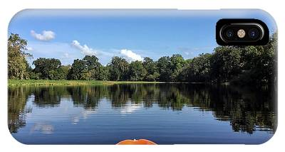 Orange Kayak  IPhone Case