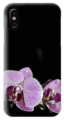 Orchid Blooms IPhone Case