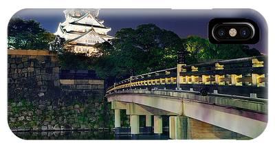 Osaka Castle IPhone Case