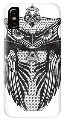 Owl Illustration IPhone Case