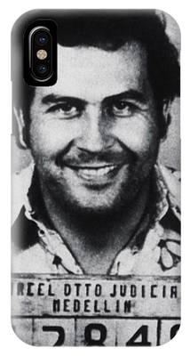Pablo Escobar iPhone X Cases