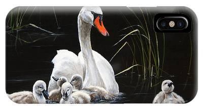 Gosling Paintings iPhone Cases