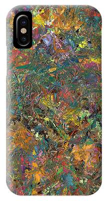 Abstract Expressionism Phone Cases