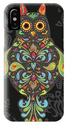 Paisley Owl IPhone Case