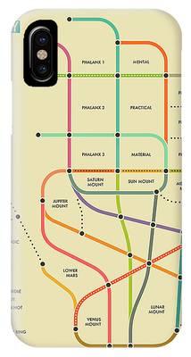 Subway Map Phone Cases