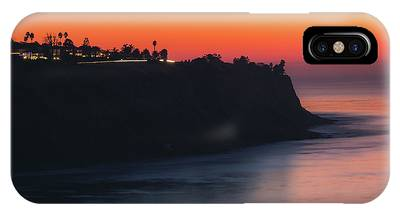 IPhone Case featuring the photograph Palos Verdes Coast After Sunset by Andy Konieczny
