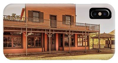 Paramount Ranch Saloon IPhone Case
