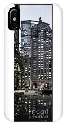 IPhone Case featuring the photograph Park Avenue Met Life Nyc by Juergen Held