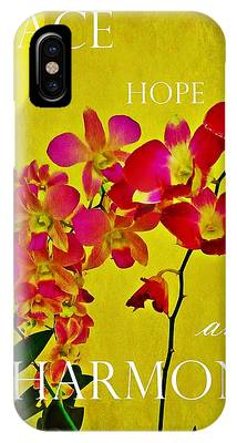 IPhone Case featuring the photograph Peace Hope And Harmony by Patricia Strand